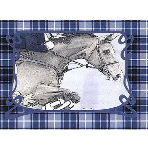 Intrepid International Jumping Horse Placemats