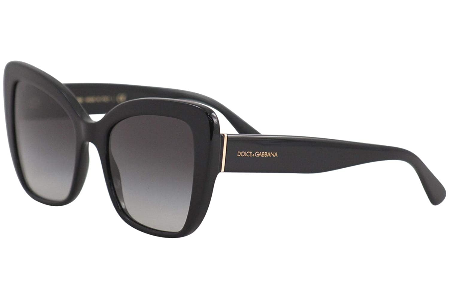 c70624aca2d8 Amazon.com  Dolce   Gabbana Women s 0DG4348 Black Grey Gradient One Size   Dolce and Gabbana  Clothing