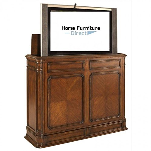 Crystal Pointe XL End of Bed TV Lift Console