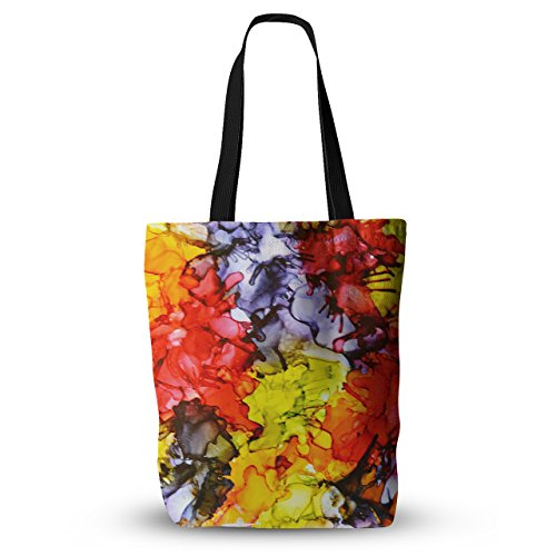 kess-inhouse-everything-tote-bag-18x18-claire-day-southern-comfort-multicolor-one-size