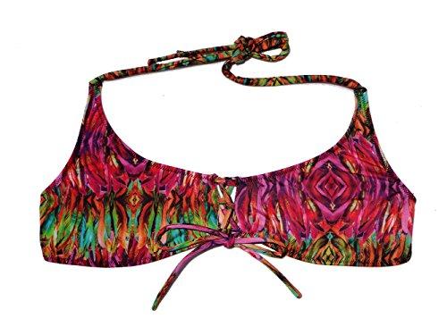 e23e4aea3b Halter Bikini Top, Medium, by Awa de Sal Swimwear Costa Rica,separate pieces