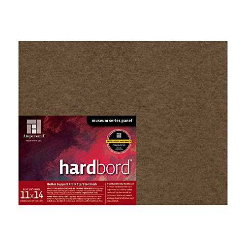 Ampersand Hardbord 11 in. x 14 in. each