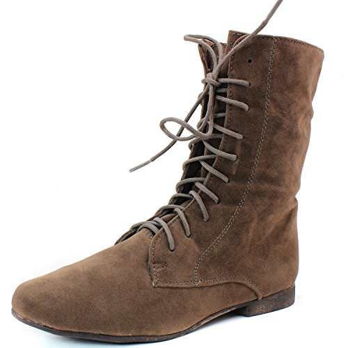 Kvinna Upp Klassiska Platta Oxford Dagdrivaren Sneakers Två Sätt Slit Breckelles Sandig Samling Beige