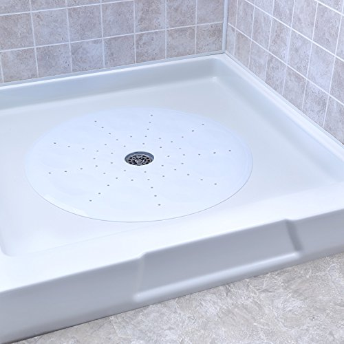 Eazy Drain - SlipX Solutions Essential Round Shower Mat