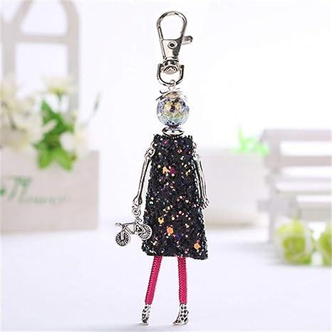 Lmyxy Llavero para Mujer con diseño de muñeca, Bonito ...