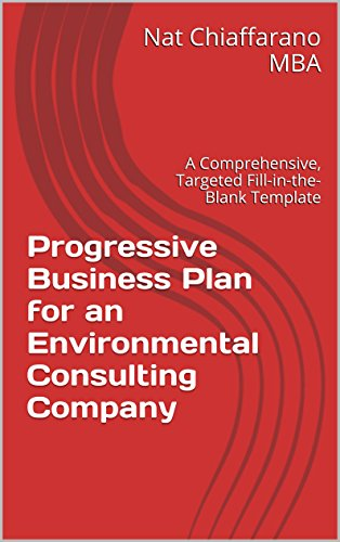 Environmental consulting business plan