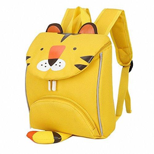 CutePaw Cartoon Tiger/Rabbit/Snack Animal Printed Children Shoolbag Backpack Bookpack Daypack Unisex [並行輸入品] B077Q7ZHJ8