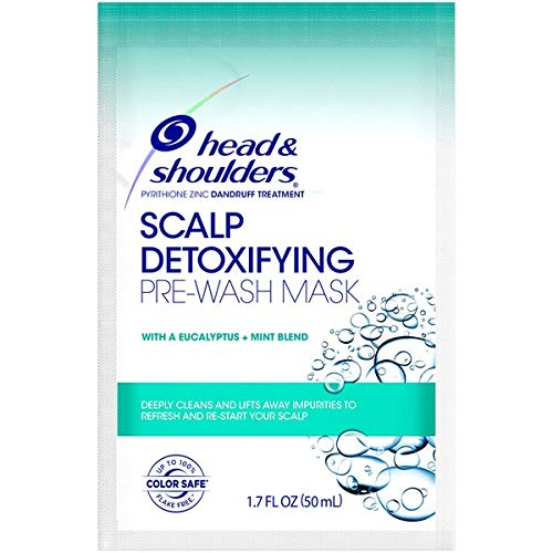 - Shoulders Scalp Detoxifying Pre-Wash Mask with Eucalyptus Mint 1.7 oz (Pack of 2)