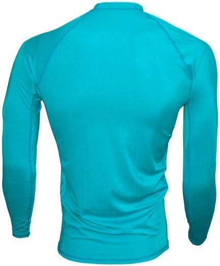 KSP Maillot en Lycra Manches Longues LL 9/S-M-L-XL Top Rashguard Anti-UV pour Kitesurf Shirt Windsurf for Surf