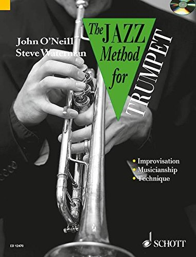The Jazz Method for Trumpet (Tutor Book & Cd) (Brass Music Ensemble Book)