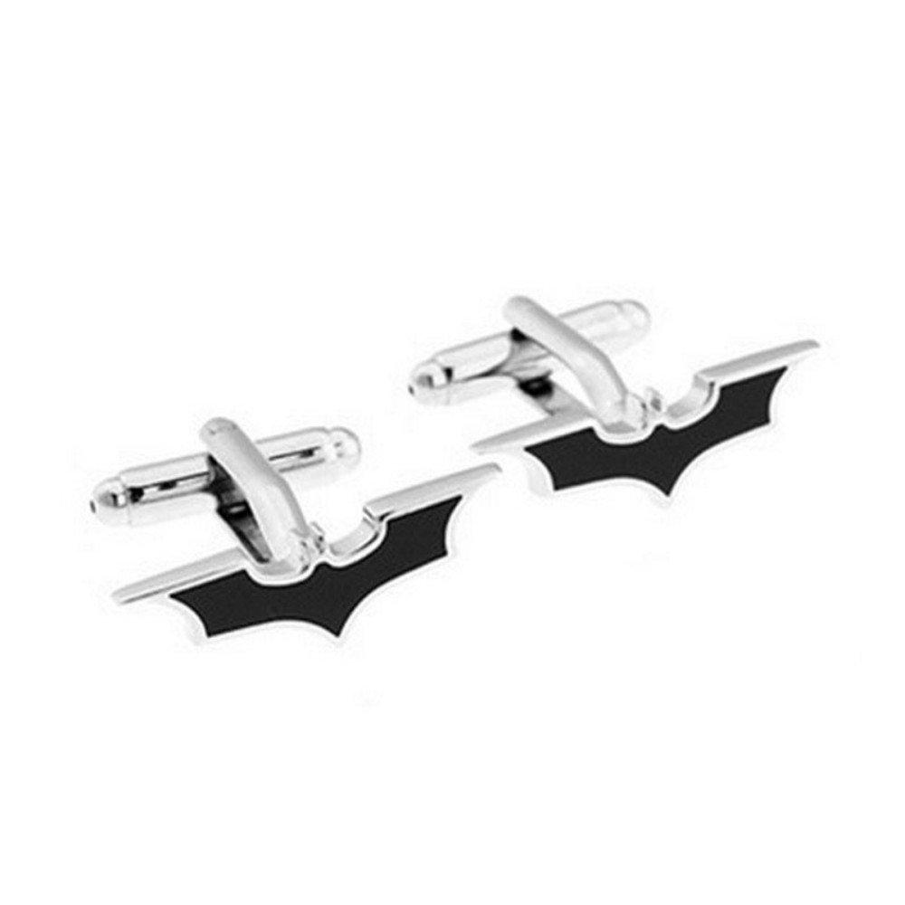 SS Black Batman Metal Cufflinks for Men