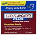 Lipo-flavonoid Plus Caplet 100 Count Helps Circulation in the Ear by Lipo-Flavonoid