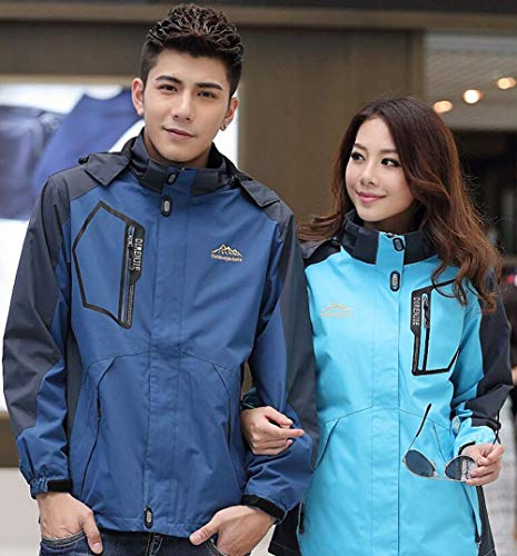 Blue Antivento Fall Uomo Giacche Dimensione Giacca Da Spring Trekking colore Lake Campeggio Lovers Donna Huan Women's New Outdoor Con 3xl 2018 Impermeabile Cappuccio wR6fzqx