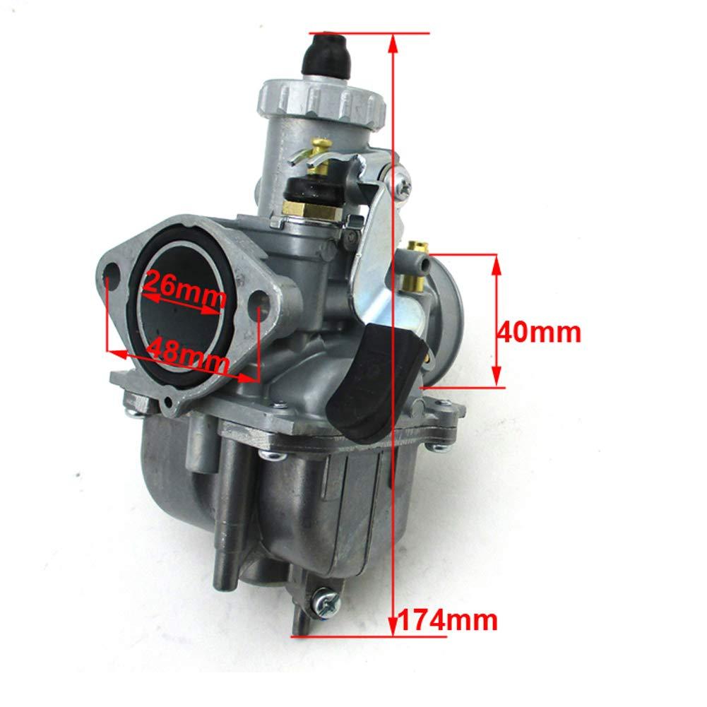 Motorrad 140/cc. Stoneder 125/cc echter Mikuni VM22/26/mm Vergaser f/ür Lifan YX Zongshen