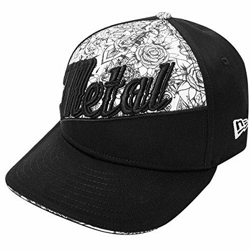Metal Mulisha Womens Hush Athletic Adjustable Hat One Size Jet Black (Metal Mulisha Women Hats)