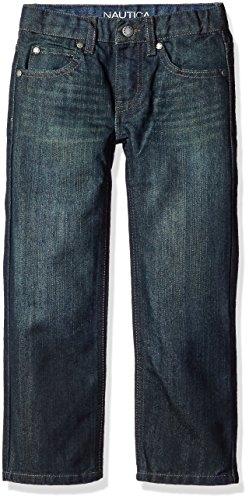 Nautica Boys 5 Pocket Straight Jeans