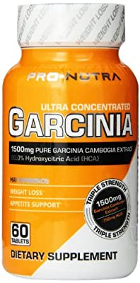 PRO-NUTRA Ultra Concentrated Garcinia, 60-Count