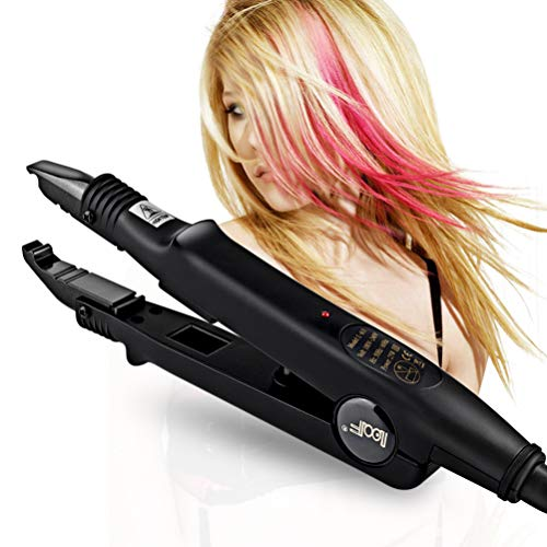 Braid Sealer - Professional Hair Extensions Tool Fusion Heat Iron Connector Wand Melting Tool Black BLUETOP
