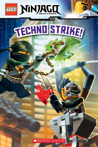 Amazon.com: Techno Strike! (LEGO Ninjago: Reader) (LEGO ...