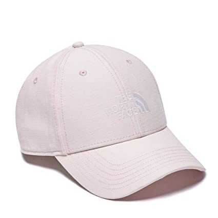 The North Face 66 Classic Hat Gorra, Hombre, Pink Salt/TNF White,