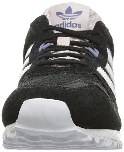 Adidas Originali Da Donna Zx 700 W Fashion Sneaker Nero / Bianco / Ghiaccio Viola F16