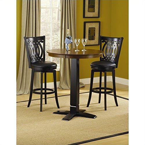 Hillsdale Dynamic Designs Pub Table in Black (40 Inch Bar Table)
