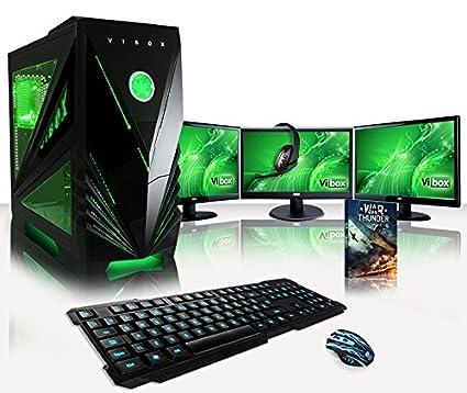 e35625733d899 VIBOX Warrior 7W Gaming PC Ordenador de sobremesa con Cupón de Juego ...
