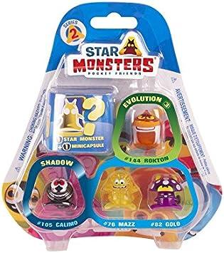 Magic Box MBX005156 Star Monsters Series 2 Blister Pack