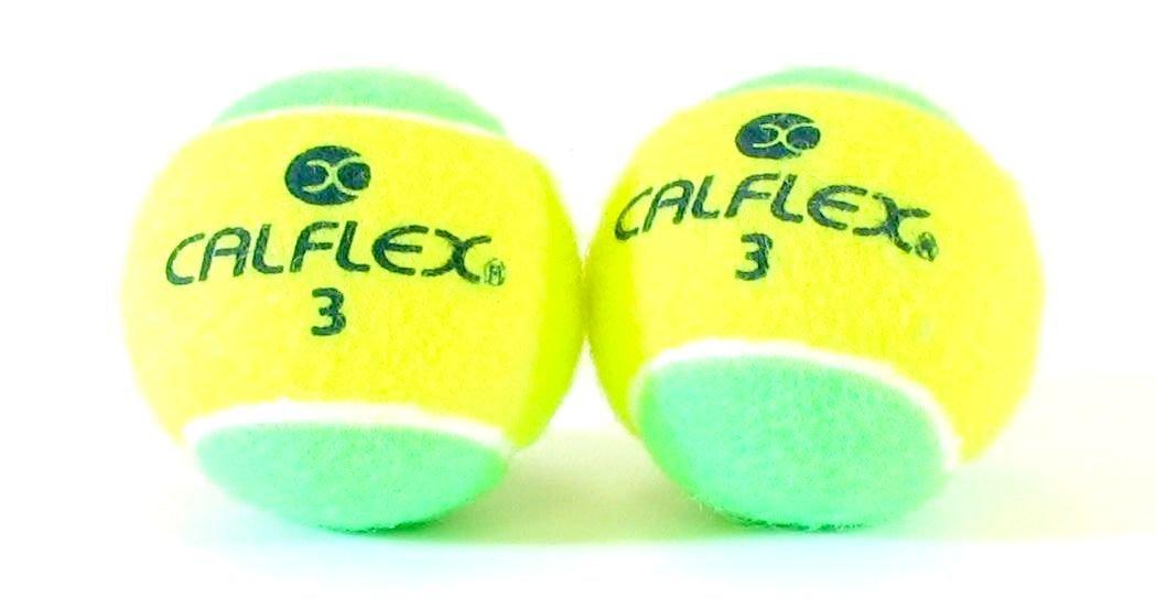 CALFLEX(カルフレックス) ノンプレッシャー 硬式テニスボール 2球入り LB-450 YLxGR