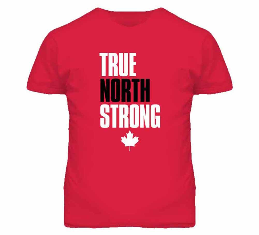 Tshirt Bandits S Canada 2014 True North Strong