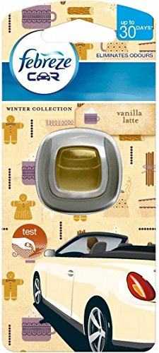 Febreze Car Air Freshener Vanilla - Pack of 6 by Febreze