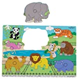 Small World Toys Ryan's Room Wooden Puzzle - Zoo Animals