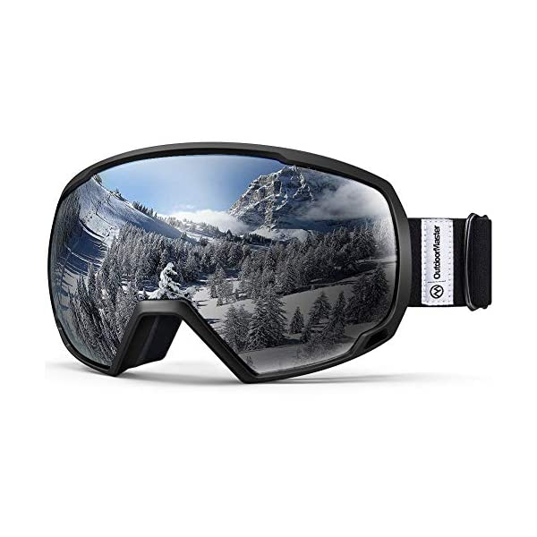 848c0eb9cf92 OutdoorMaster OTG Ski Goggles – Over Glasses Ski Snowboard Goggles for Men