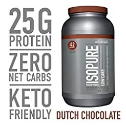 Isopure Low Carb, Keto Friendly Protein ...