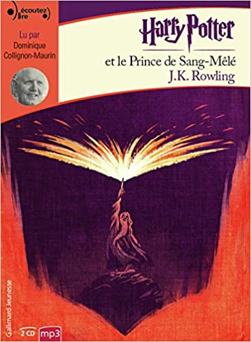 Harry Potter Et Le Prince De Sang Mele Livre Audio French
