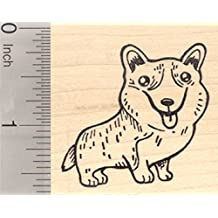 Corgi Dog Rubber Stamp, Pembroke, Welsh, Cardigan