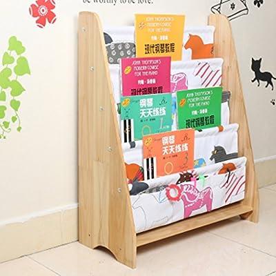 Estante Madera maciza Estantería infantil Jardín de infancia Librero del bebé Caja de almacenaje Dibujo de dibujo Estanterías Librería Estante de almacenamiento Caja de almacenamiento (Color : 9) : Amazon.es: Hogar