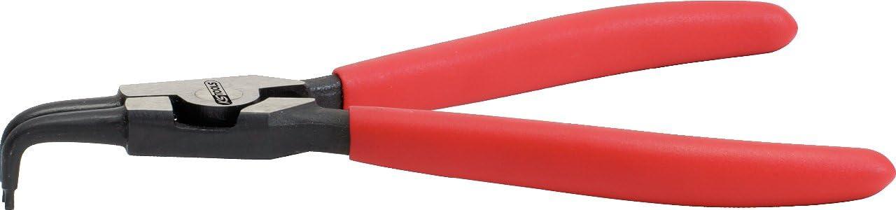 KS Tools 500.1026 Alicate para anillos de seguridad exteriores tama/ño: 160 mm acodado 90/°