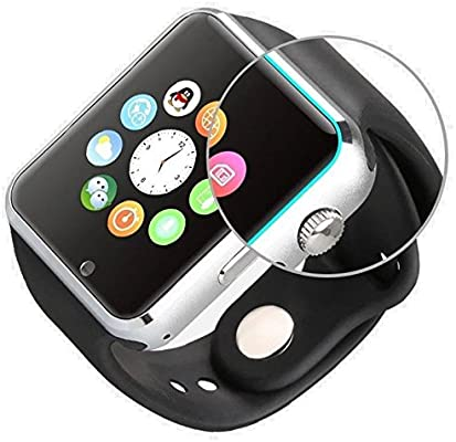 SmartWatch A1 - Teléfono con SIM - Pantalla táctil: Amazon ...