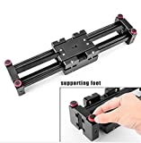 GOWE DSLR Rail Slider for Camera Video Dolly Track+Folding Z flex Tilt Ball Head Quick Release Plate Camera Mounting
