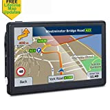 Car GPS, 7-inch Portable 8GB Navigation System for Cars, Lifetime Map Updates, Vehicle GPS Sat-Nav