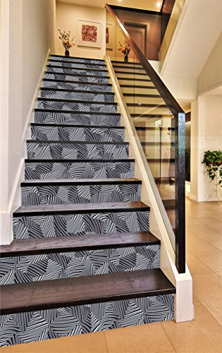 3D Metal Stripes Painting 758 Stair Risers Decoration Photo Mural Vinyl  Decal Wallpaper Murals Wallpaper Mural