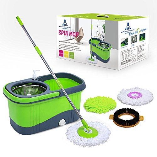 Spin Mop Bucket System By Heritage Home Products A