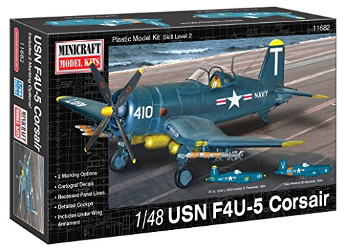 Minicraft Models 1:48 Scale USN F4U-5 Corsair Model Kit