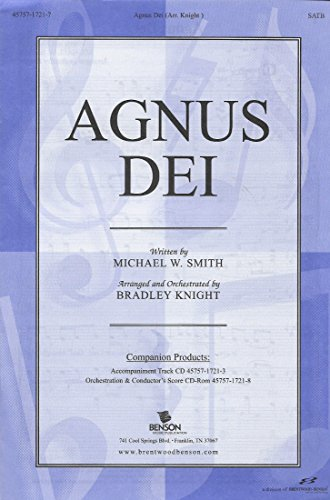 Agnus Dei (Agnus Dei Michael W Smith Sheet Music)