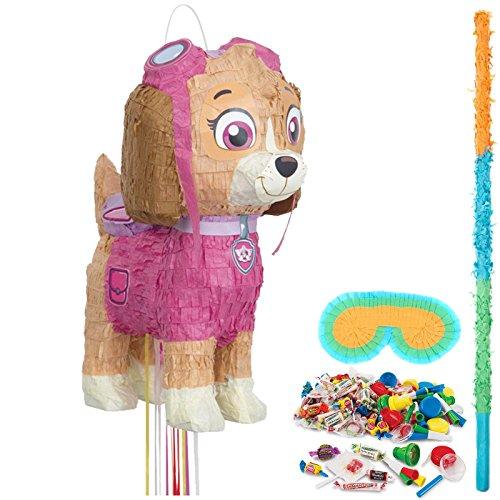 BirthdayExpress Paw Patrol Pink Party Supplies Pinata Kit]()