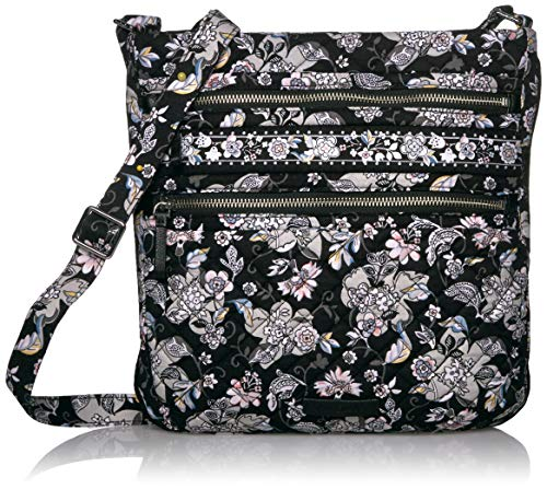 Vera-Bradley-Signature-Cotton-Triple-Zip-Hipster-Crossbody-Purse-Handbag