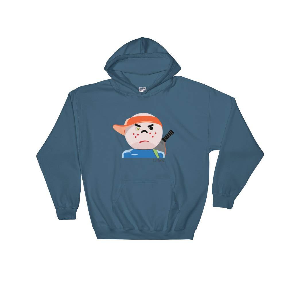 The Salty Orb Pickleball Lil Bully Hooded Sweatshirt