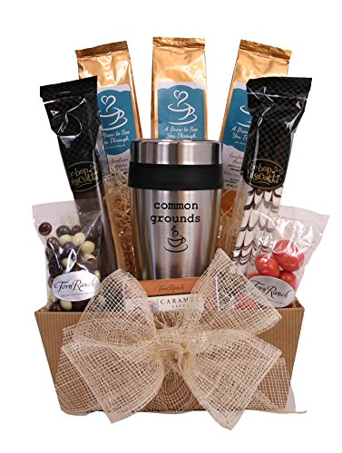 Common Grounds - Coffee Lover's Gift Basket