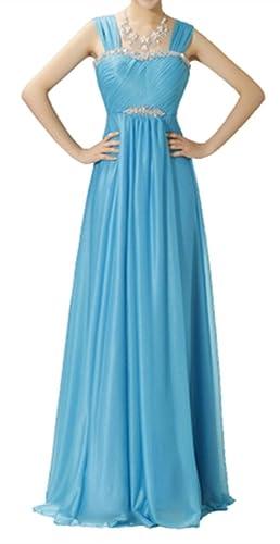 Eyekepper -  Vestito  - Sera  - Senza maniche  - Donna azzurro medium
